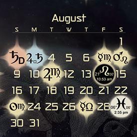 Astrology Forecast & Auspicious Dates for August 2015