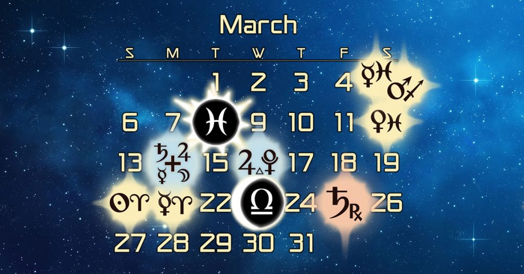 Astrology Forecast and Elections for March 2016