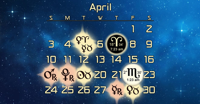 Astrology Forecast and Elections for April 2016