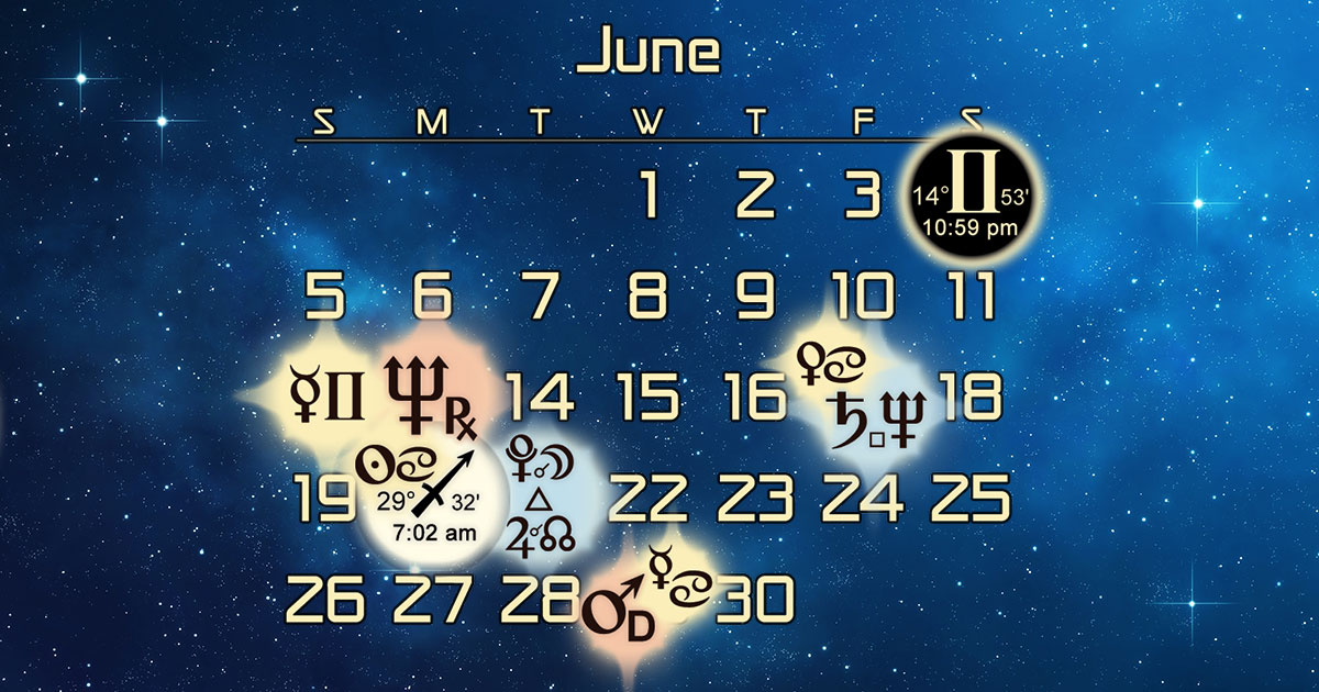 Astrology Forecast and Auspicious Dates for June 2016