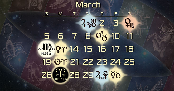 Astrology Forecast for March 2017