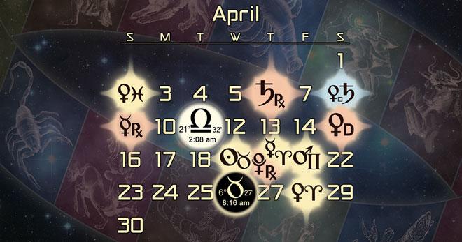 Astrology Forecast for April 2017