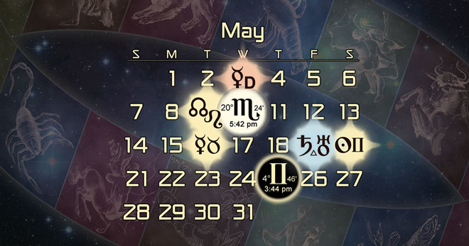 Astrology Forecast for May of 2017
