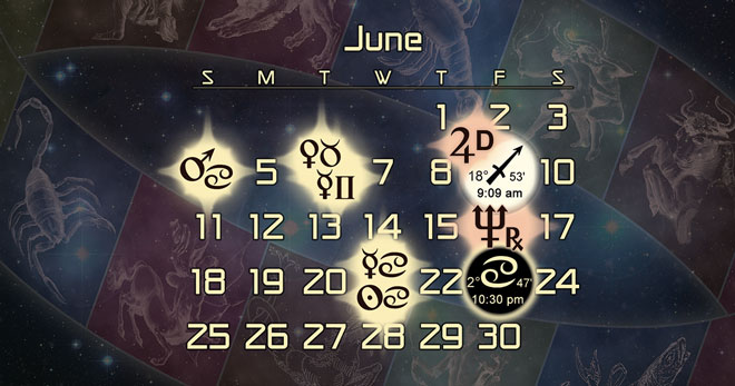 Astrology Forecast for June of 2017