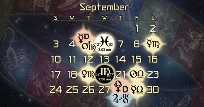 Astrology Forecast and Election for September 2017