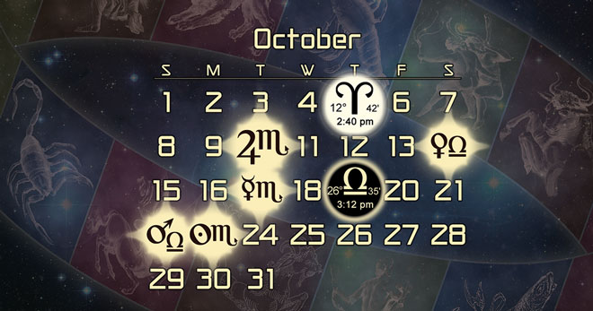 Astrology Forecast + Major Alignments for October 2017