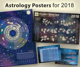 2018 Astrology Calendar Posters
