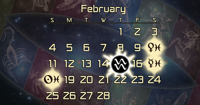 Astrology Forecast for February 2018