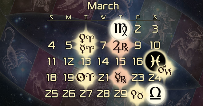 Astrology Forecast for March of 2018