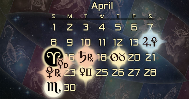 Astrology Forecast for April of 2018