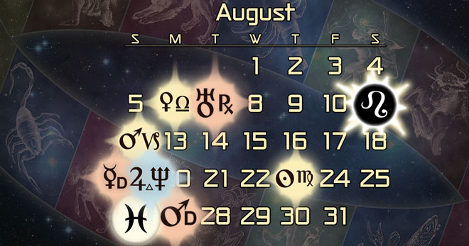 August 2018 Astrology Forecast: Final Solar Eclipse in Leo