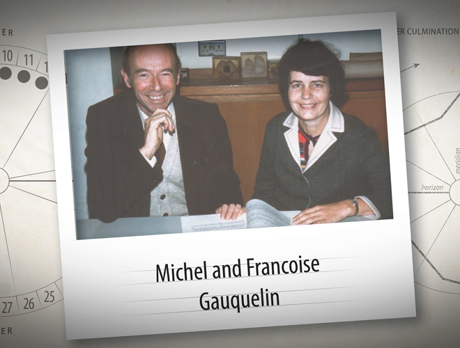 Michel and Francoise Gauquelin