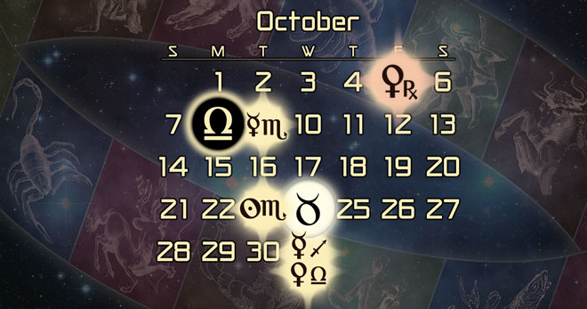 October 2018 Astrology Forecast: Venus Retrograde in Scorpio