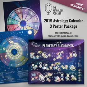 2019 Astrology Calendar Posters