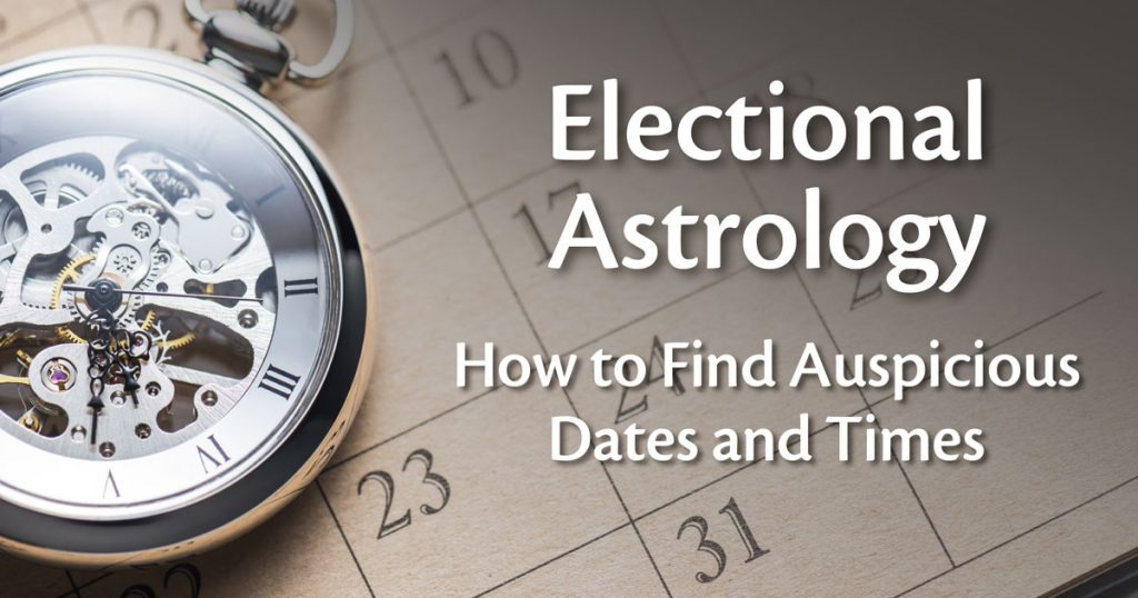 electional astrology wedding