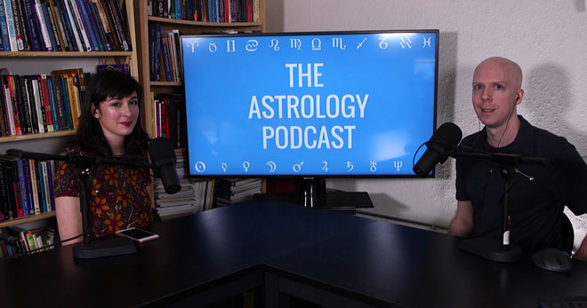 Lisa Ardere and Chris Brennan on The Astrology Podcast