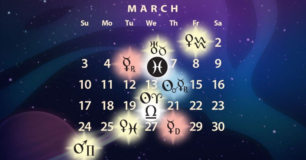 lowest price f20c2 4aa50 March 2019 Astrology Forecast: Mercury Retro in Pisces