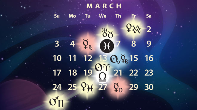 March 2019 Astrology Forecast: Mercury Retro in Pisces