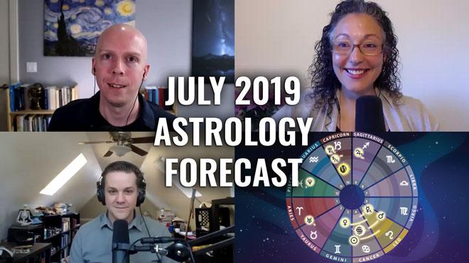 July 2019 Astrology Forecast: Mercury Retrograde Conjunct Mars