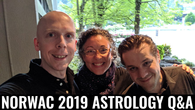 Live Astrology Q&A Session at NORWAC 2019