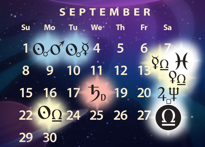 September 2019 Astrology Forecast
