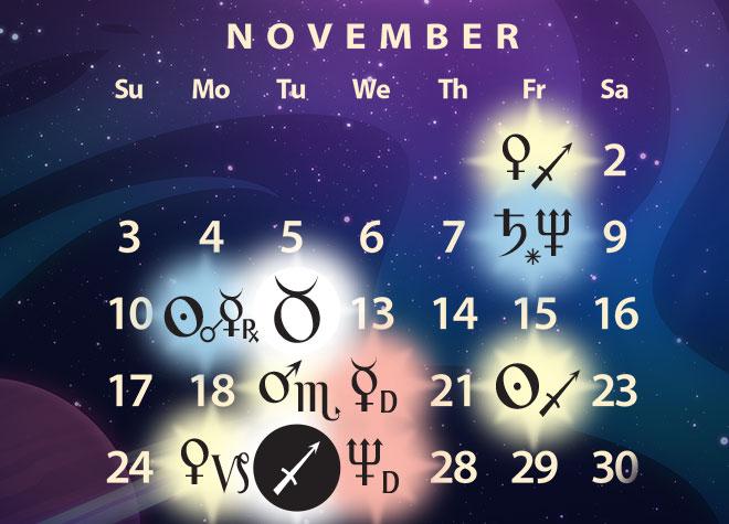 November 2019 Astrology Forecast: Last of Jupiter in Sag