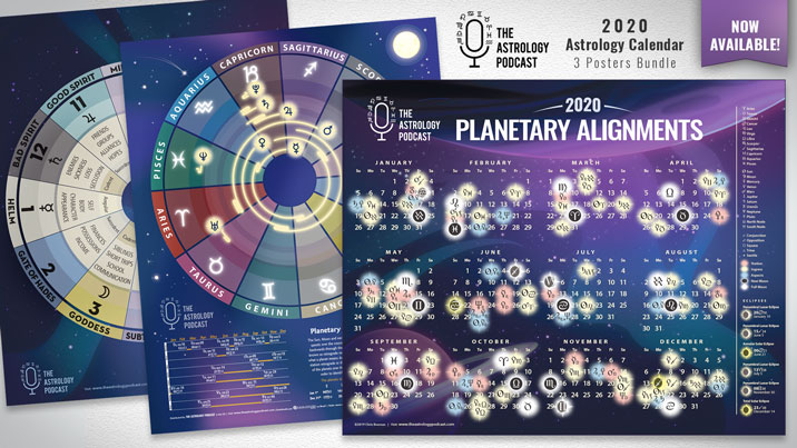 2020 astrology poster bundle