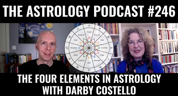 The Four Elements in Astrology, with Darby Costello