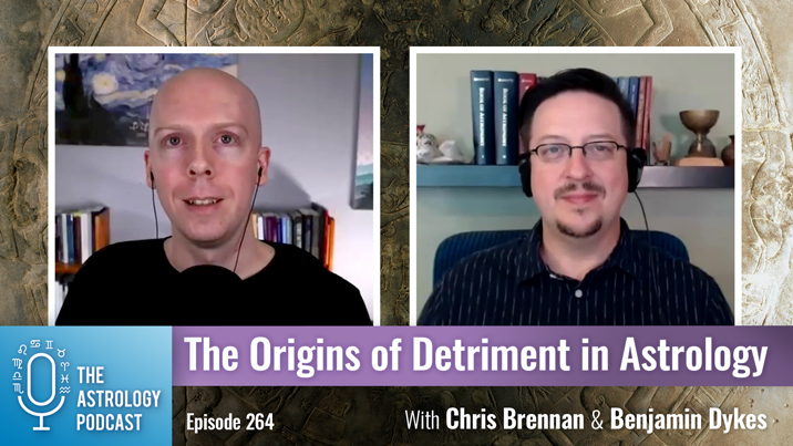 The Origins of the Concept of Detriment in Astrology
