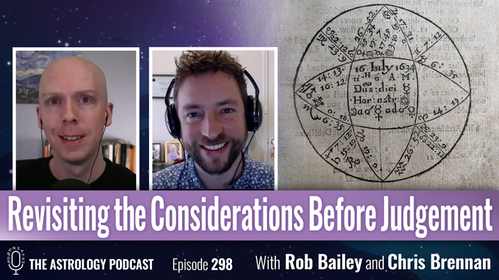 Revisiting the Considerations Before Judgement in Horary Astrology