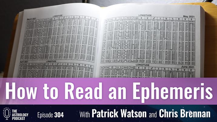 How to Read an Ephemeris